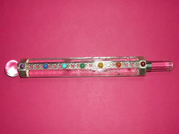 Related 7 Chakra Clear Crystal Healing wand