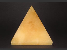 Related 62 mm Yellow Agate Pyramid