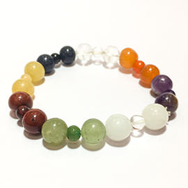 Related 7 Chakra Multi Color Bracelet