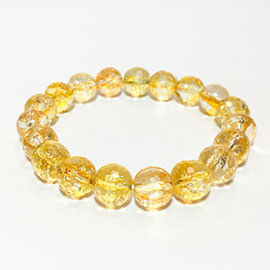 Related Beaded Citrine Bracelet