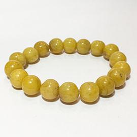 Related Golden Agate Bead Bracelet