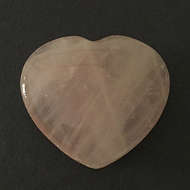 45 mm Rose Quartz Heart