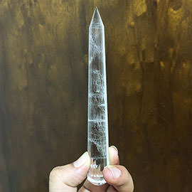 Related 15.2 Cms Quartz Crystal Wand