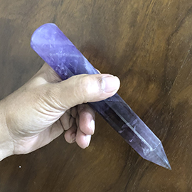 Related Big Amethyst wand