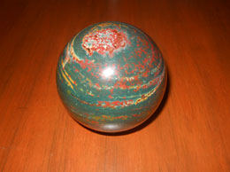 Rare Blood Stone Sphere