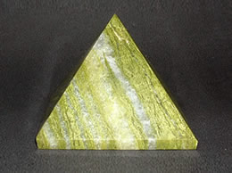 Related 60 mm Green Agate Pyramid