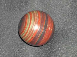 120 gms Jasper with Hematite Balls