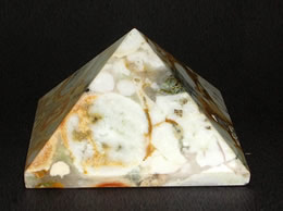 Related 52 mm Fancy Agate Pyramid