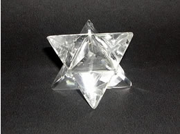 22 mm Clear Quartz Crystal Merkaba
