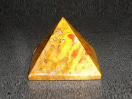 Related 25 mm Fancy Agate Pyramid