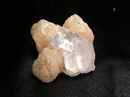 Related Apophyllite Pryamid with stilbite