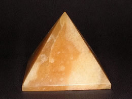Related 48 mm Golden Agate Pyramid