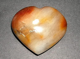 60mm Agate Heart