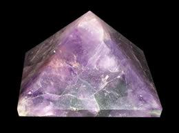50 mm Amethyst Crystal Pyramid