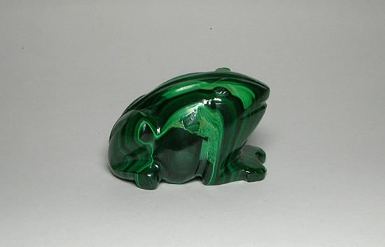 Buy Malachite Frog For Prosperity