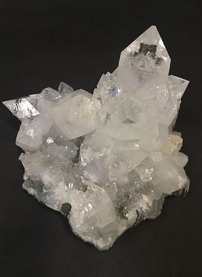 Museum Apophyllite Cabinet Specimen Cluster Prana Crystals
