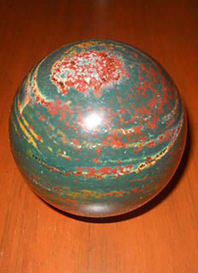 Rare Blood Stone Sphere Image