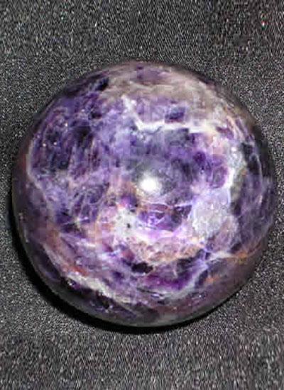 180 Gms Amethyst Crystal Ball Image