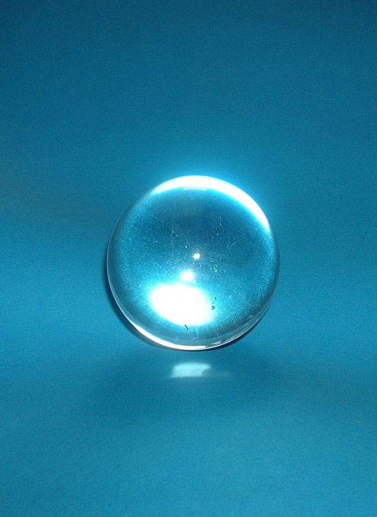 31mm Clear Quartz Crystal Ball Image
