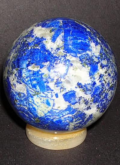 30 mm lapis lazuli sphere Image