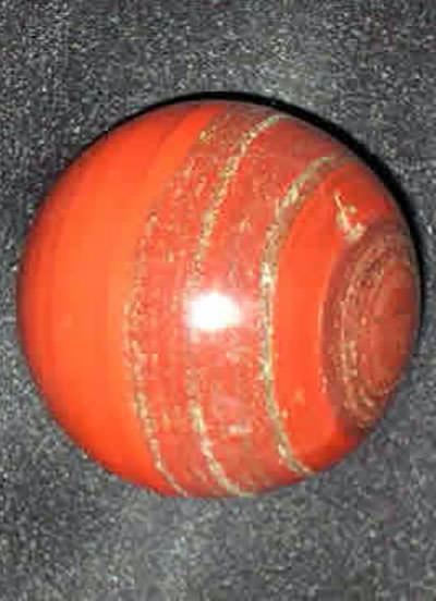 120 Gms Jasper Hematite Ball Image