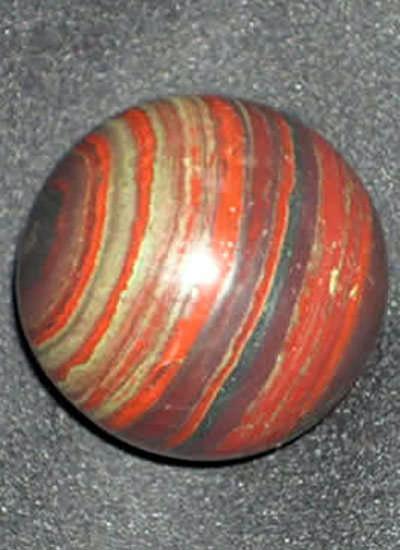 120 gms Jasper with Hematite Balls Image