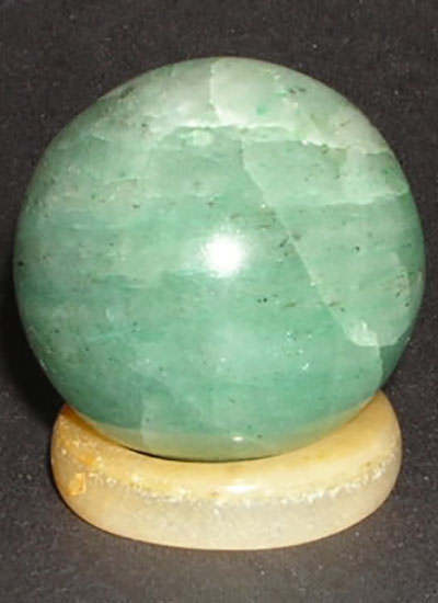 25 mm Green Aventurine Ball Image