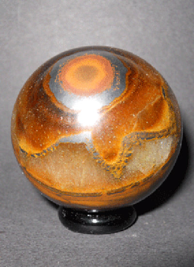 48 Mm Tiger Eye Ball Image