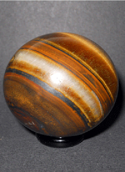 51 Mm Tiger Eye Ball Image
