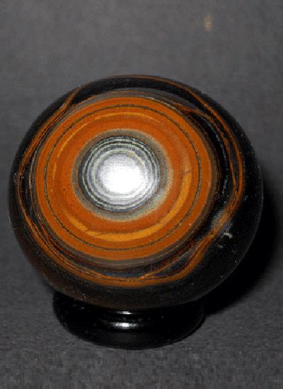 37 Mm Tiger Eye Ball Image