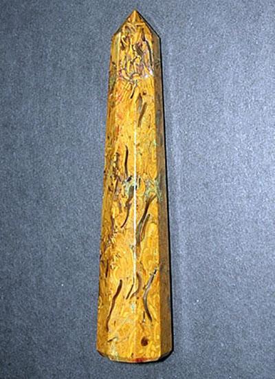 115 mm Snake Jasper Wand Image