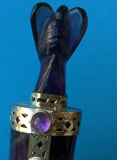 Amethyst Angel wand Image
