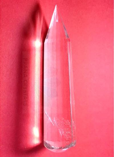 8 cm Quartz Crystal wand Image