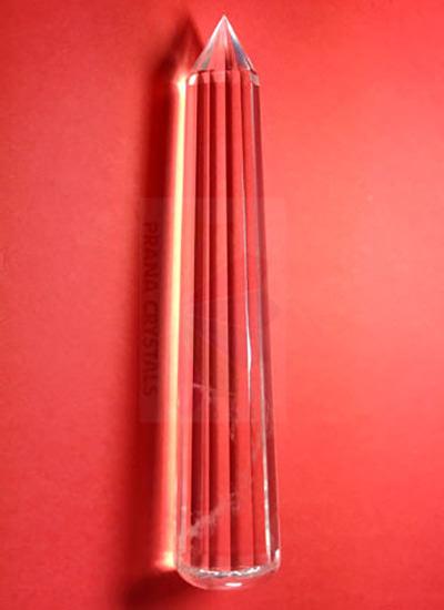 12 Centimeter Quartz Crystal wand Image