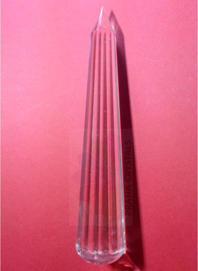 13 cm Quartz Crystal Wand Image