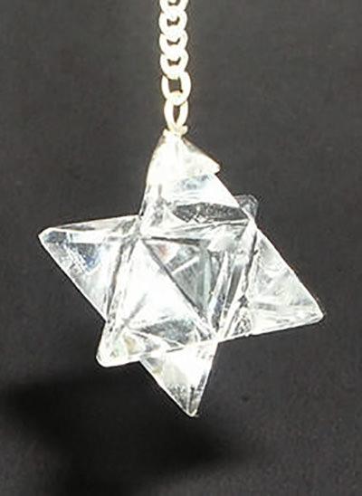 Crystal Merkaba Pendulum Image