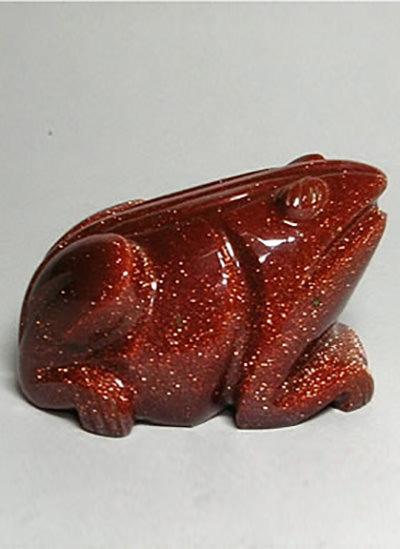 Sun Stone Frog Image