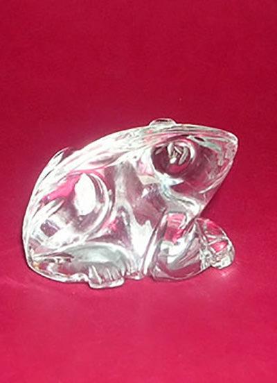 34 Gms Crystal Frog Image