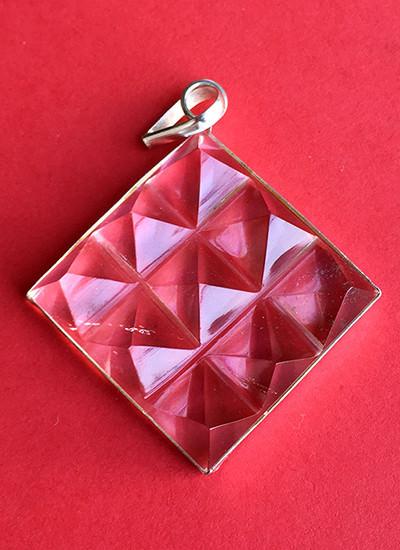 9 Pyramid Crystal Pendant Image