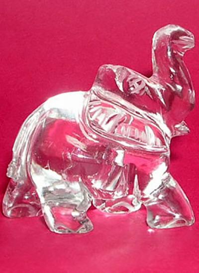 Crystal Elephant Image