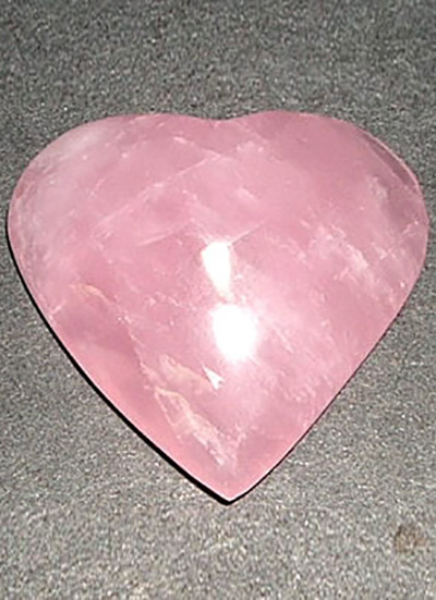 43 mm Rose Quartz Heart Image