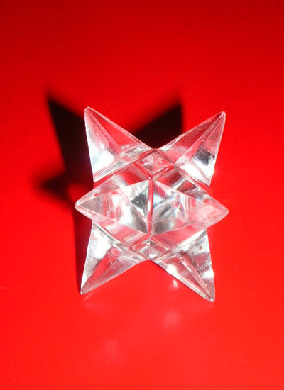 20 mm Quartz Crystal Merkaba Image