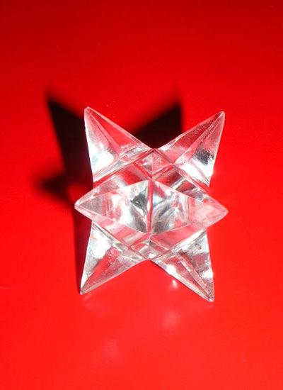 20 mm Quartz Crystal Merkaba Image