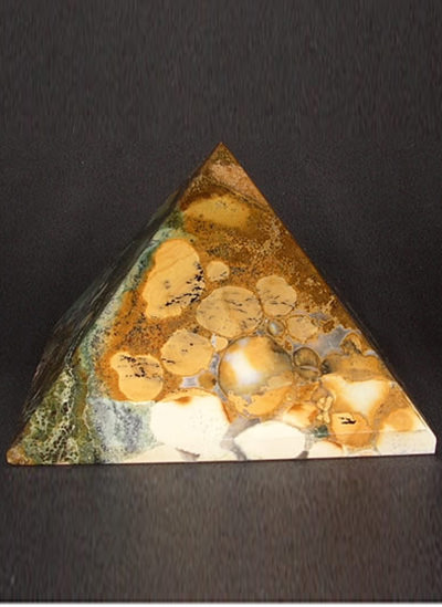 77 mm Fancy Agate pyramid Image