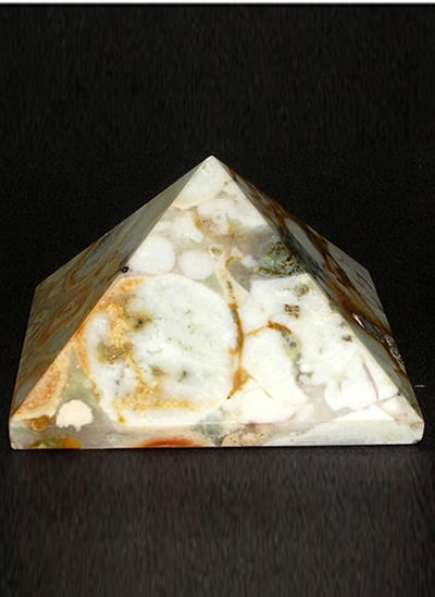52 mm Fancy Agate Pyramid Image