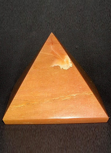 61 mm Light Brown Agate Pyramid Image