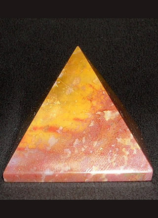 35 mm Fancy Agate Pyramids Image