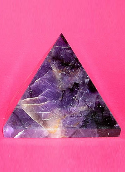 58 mm Amethyst Crystal Pyramid Image
