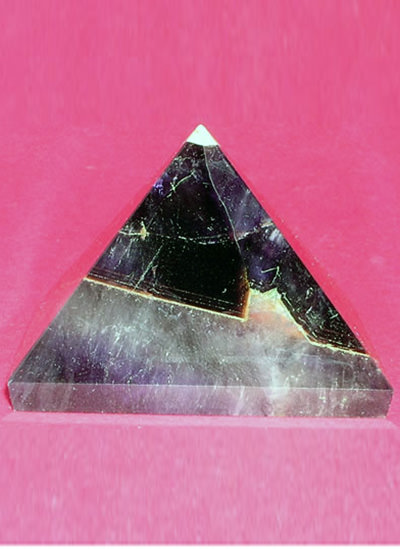 47 mm Amethyst Pyramid Image