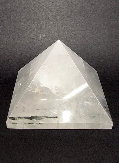 63mm Clear Quartz Crystal Pyramid Image